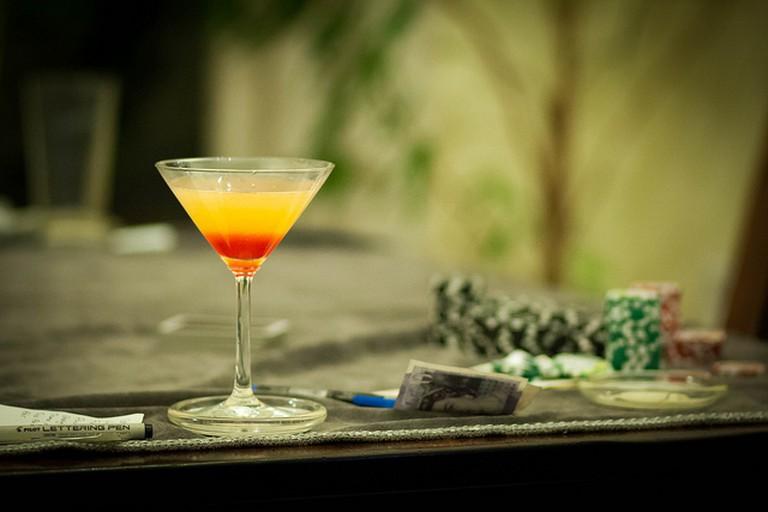 Golden Dawn Cocktail © Adrian Scottow  Flickr