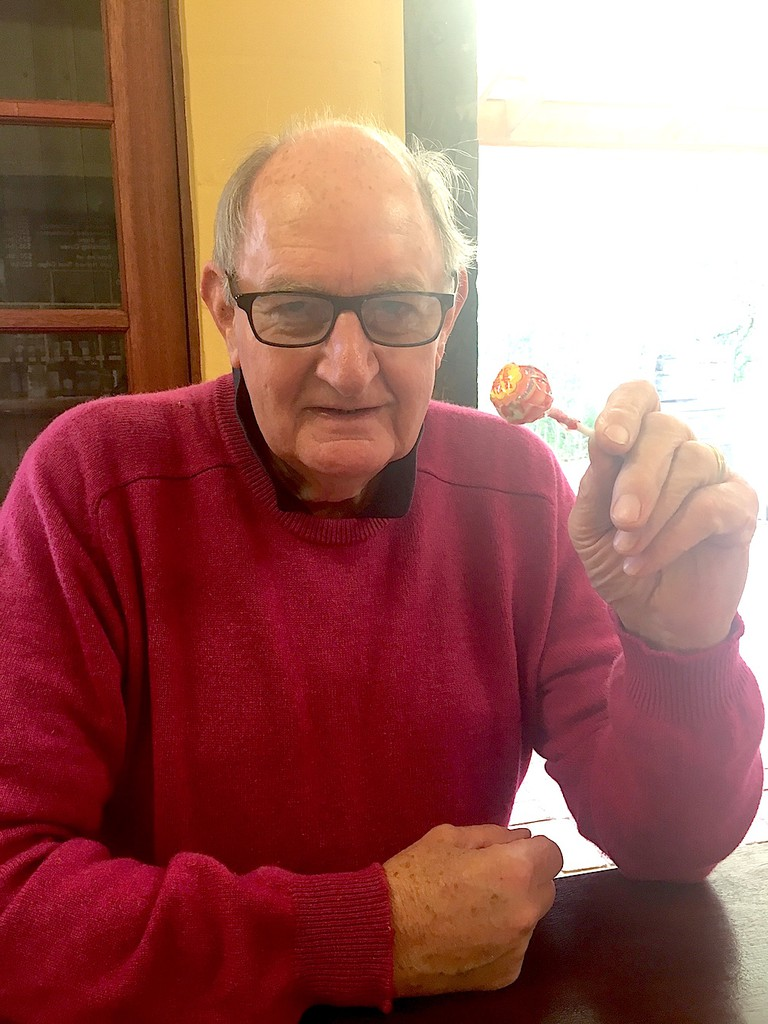 John Harper launched Chupa Chups in Australia and Japan in the early 70s. © Jessica Poulter