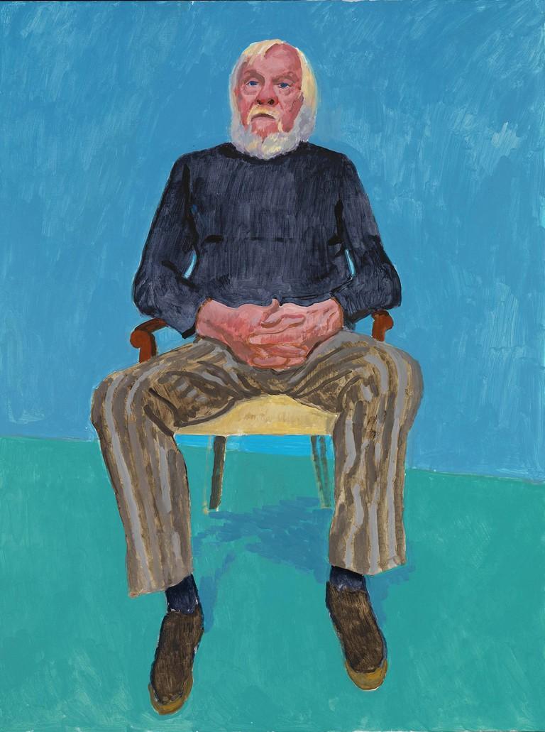 John Baldessari by David Hockney   © Richard Schmidt