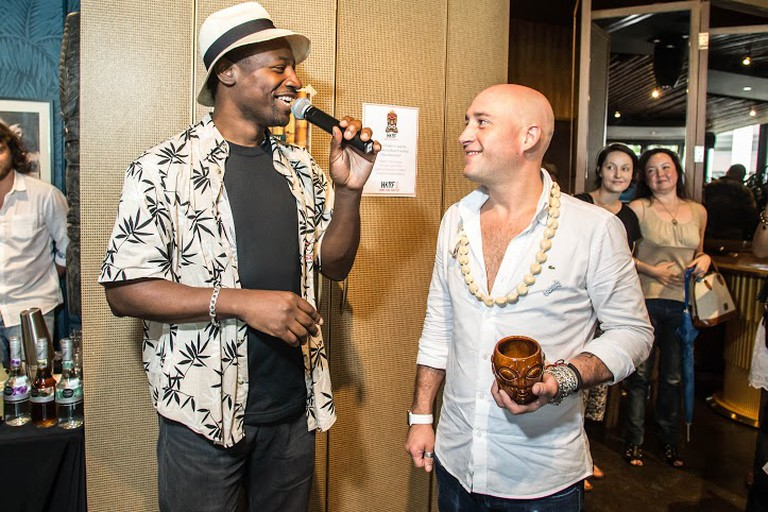 Ian Burrell and Max Traverse © Photo courtesy of Hong Kong Rum Fest