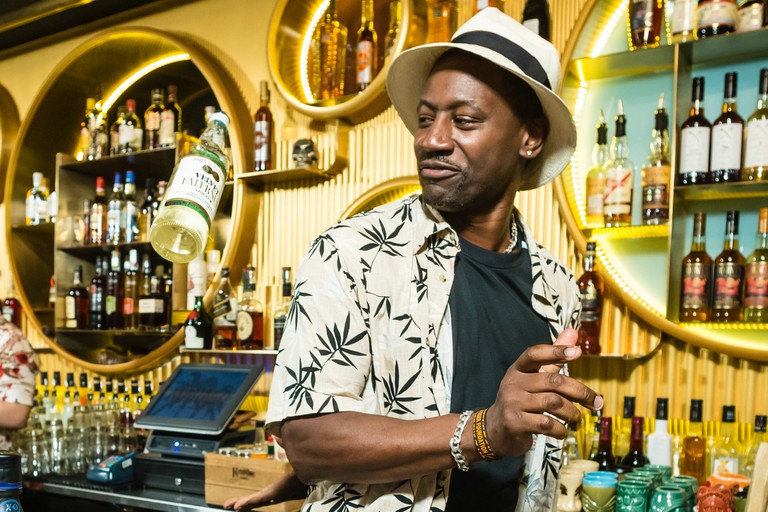 Global Rum Ambassador Ian Burrell © Photo courtesy of Hong Kong Rum Fest