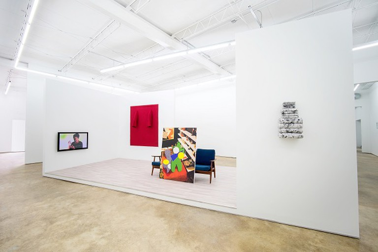 Installation view of Cathedrals of Consumption | Courtesy of Spinello Projects