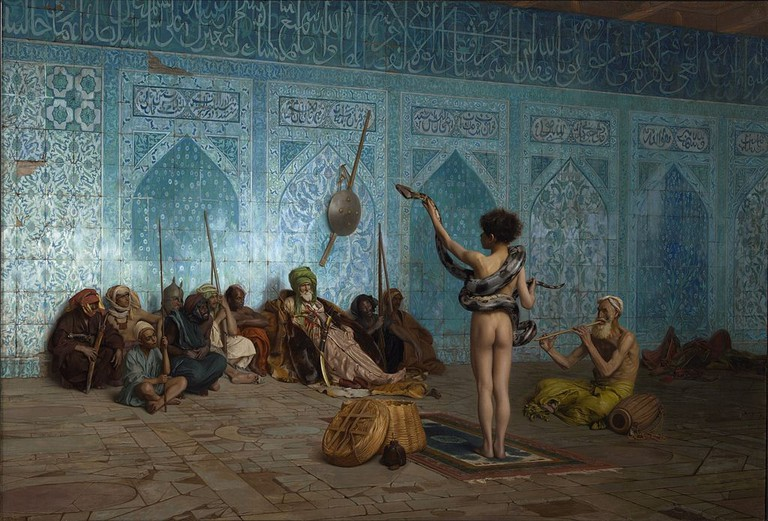 Jean-Léon Gérôme, The Snake Charmer, 1879 | © The Clark Art Institute/WikiCommons
