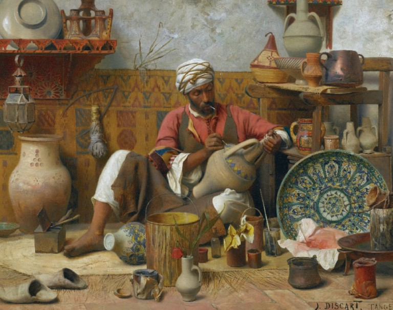 Jean Discart, L'Atelier de Poterie, Tanger   © Jean Discart/WikiCommons