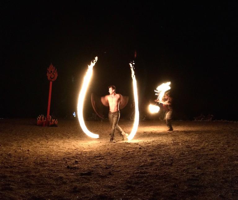 Fire Dancer | @ Brenda Garcia Davidge