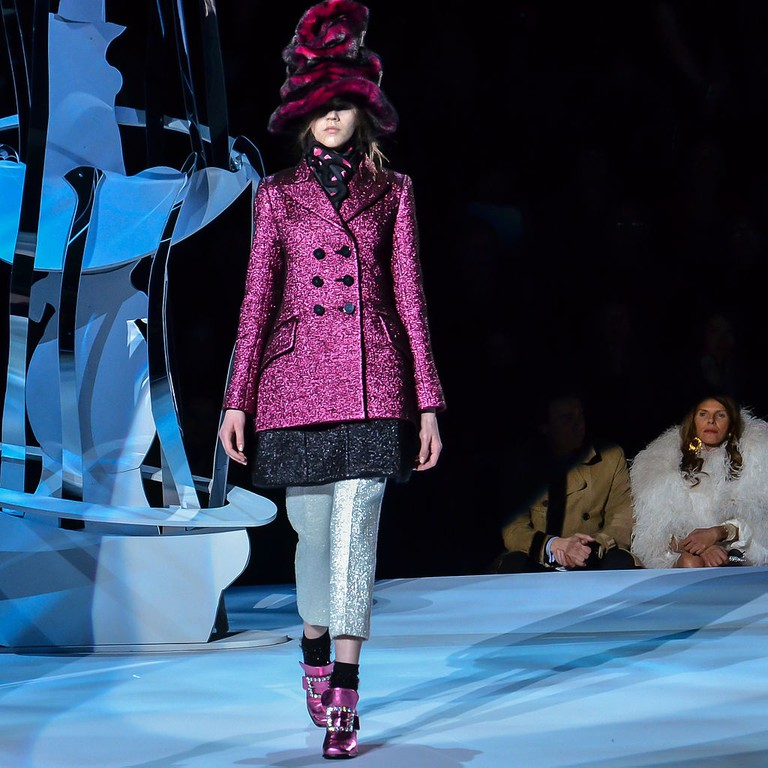 Marc Jacobs Fall-Winter 2012 11   © CHRISTOPHER MACSURAK/WikiCommons