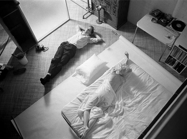 Marilyn Monroe 1961, Douglas Kirklans | Copyright Douglas Kirkland, Courtesy of Izzy Gallery