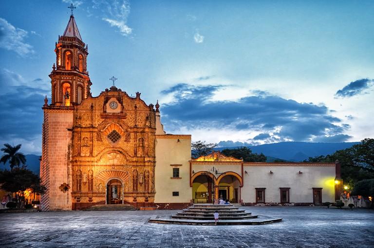 Santiago de Jalpan mission | ©Tobiascontreras/Wikicommons