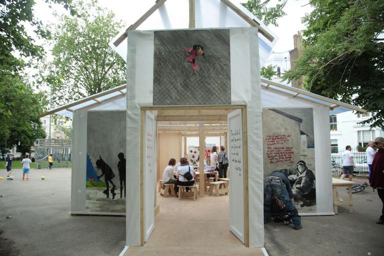 The Portobello Pavilion | Courtesy of InTRANSIT Festival