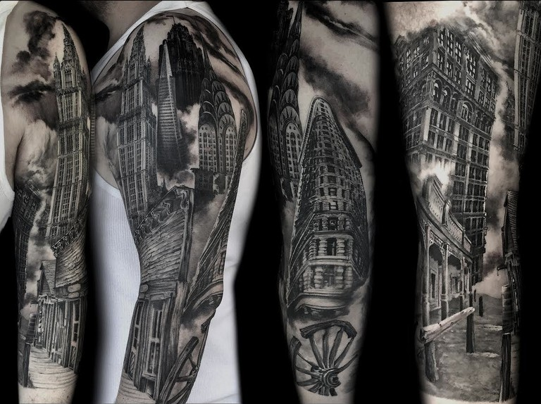 Tattoo by Kari Barba © Kari Barba