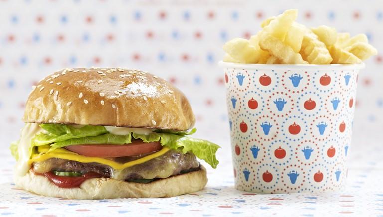 Burger and Fries |Courtesy of Huxtaburger
