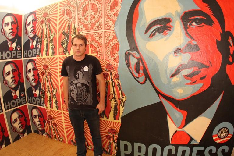 Obama Hope artwork © Hrag Vartanian/Flickr