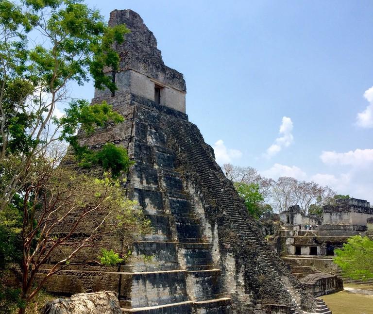 Mayan Ruins at Tikal   Courtesy of Michelle Razavi