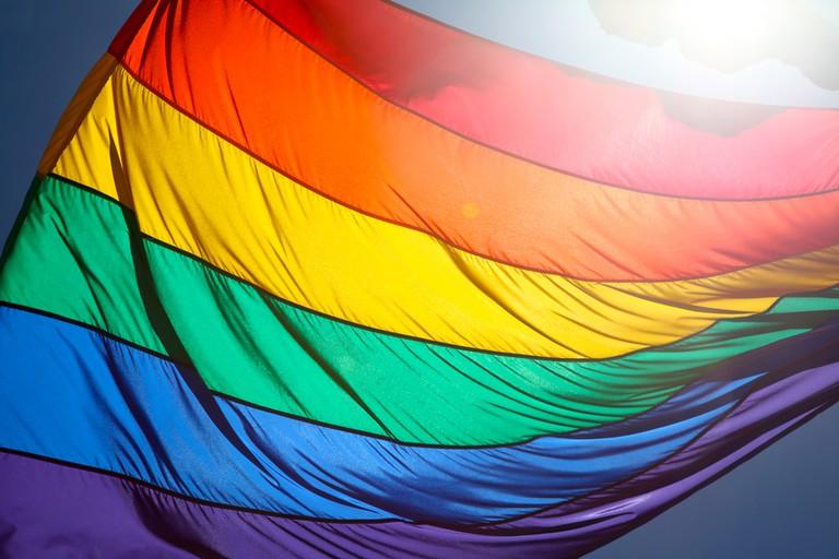 The rainbow flag © torbakhopper/Flickr