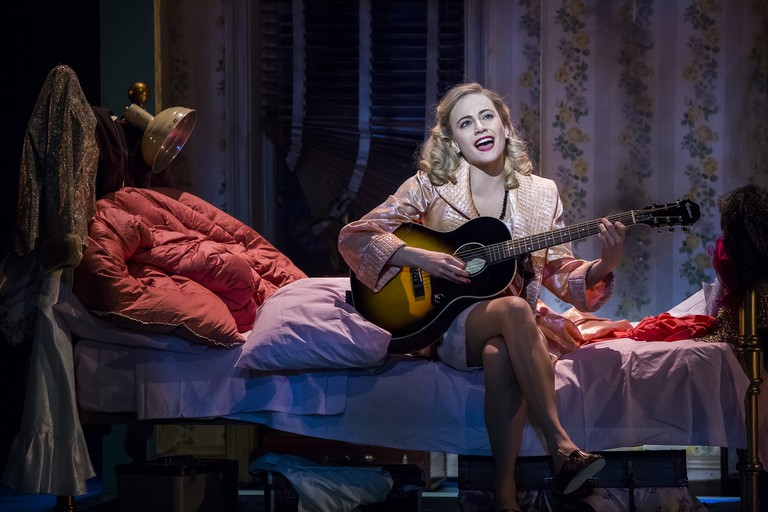 Pixie Lott as Holly Golightly in Breakfast at Tiffany's   Courtesy of Sean Ebsworth Barnes