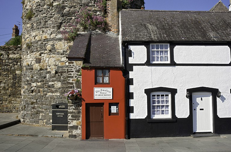 Smallest House in Great Britain, Conwy Quay. Courtesy of Visit Wales