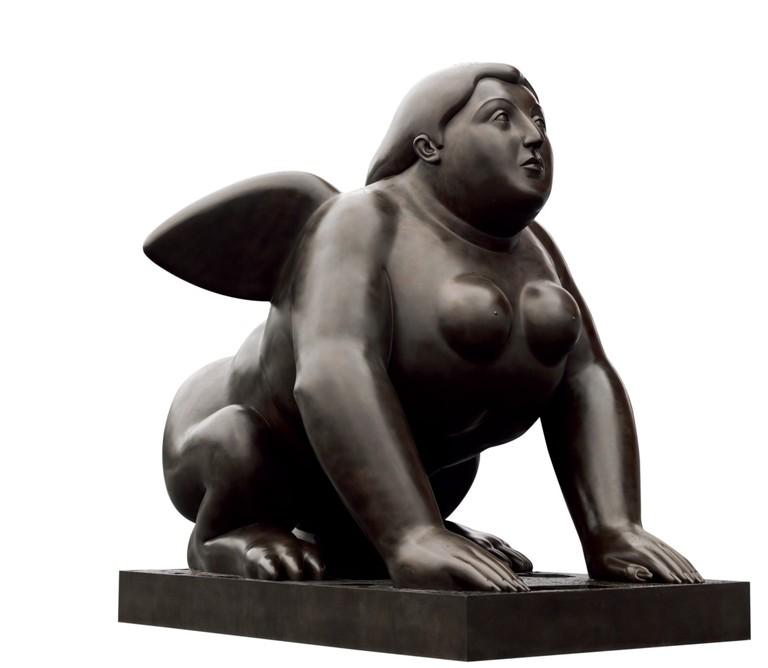 Sphinx (1995), bronze | Courtesy of Park View Art Hong Kong