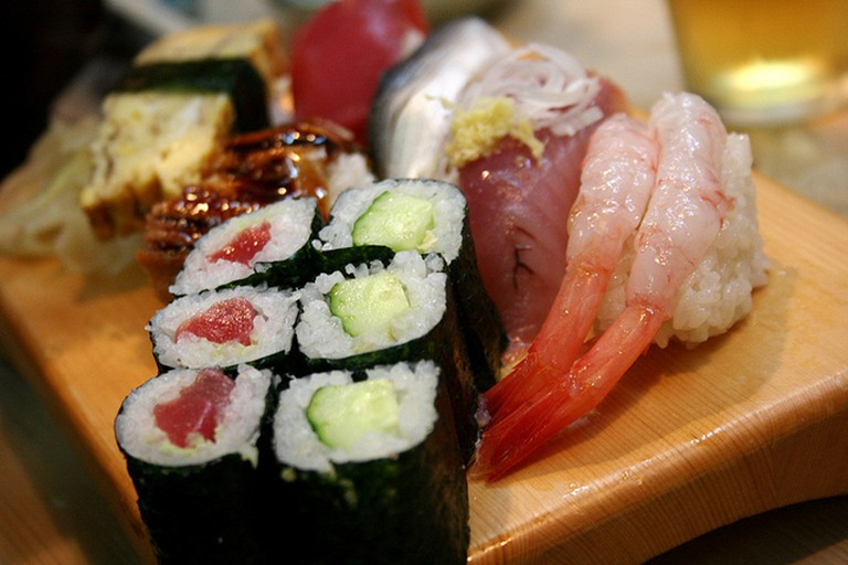 Sushi © Paul Miller Flickr