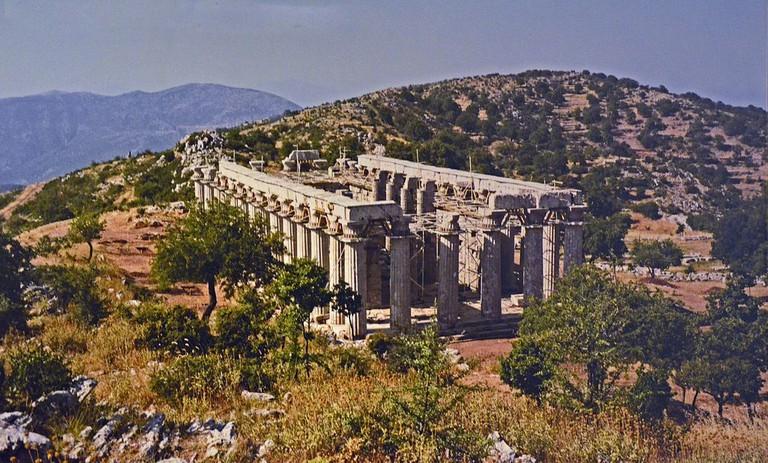 Temple of Apollo Epikourios at Bassae | © Carole Raddato/WikiCommons