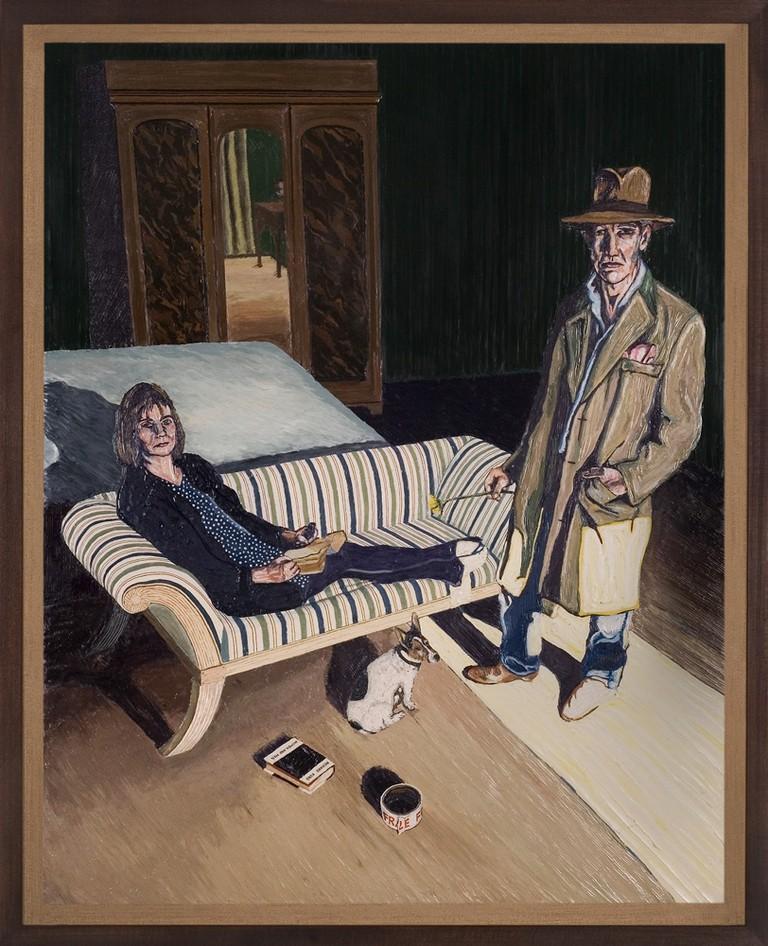 Henry Hudson, The Farmer and the Writer, 2012, Courtesy of the Henry Hudson Studio