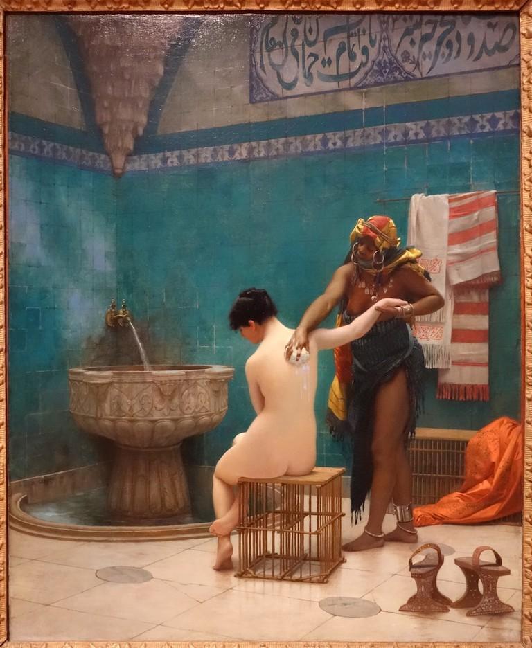 Jean-Léon Jérôme, The Bath, 1880-85   © Legion of Honor/WikiCommons