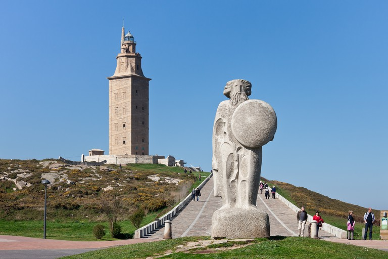 The Tower of Hercules in A Coruña | © Luís Miguel Bugallo Sánchez/Wikicommons