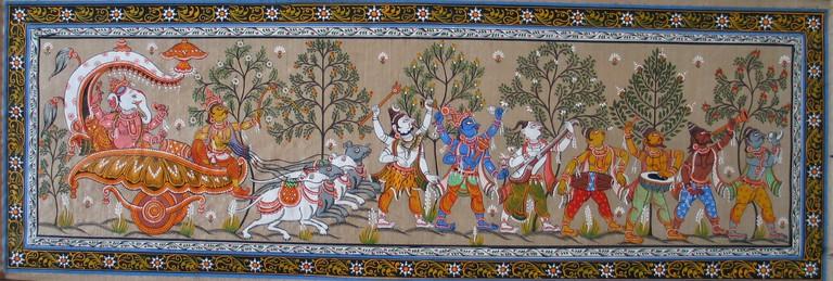 A depiction of paradis of God Ganesha of Indian Mythology © WikiCommons