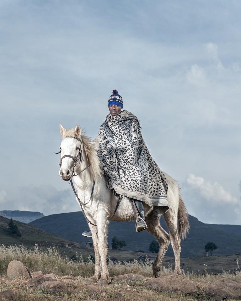 Thabo Lekhotsa - Ha Lesala, Lesotho © Thom Pierce