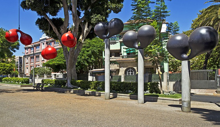 Corbero's work at International Exhibition of Outdoor Sculpture in Santa Cruz de Tenerife | © Koppchen / WikiCommons