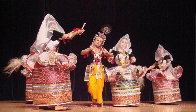 Raas Leela in Manipuri style|©Matsukin|Flickr