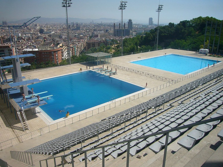 Montjuïc Municipal Swimming Pool | © Jordiferrer / WikiCommons