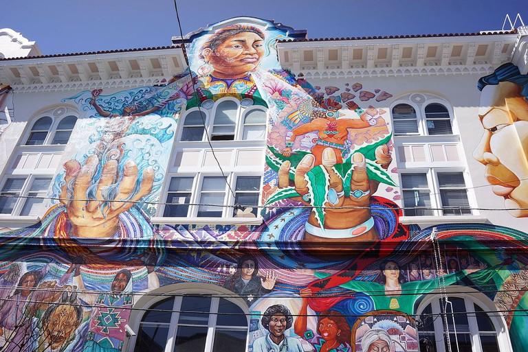 The MaestraPeace Mural | © Plateaueatplau/WikiCommons