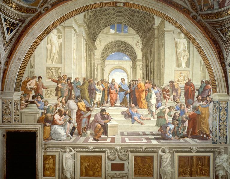 Raphael, School of Athens, 1509-11 | © Vatican/WikiCommons