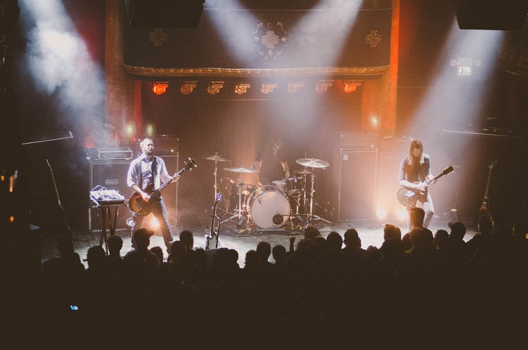 Russian Circles performs at the Great American Music Hall © Allan Wan/Flickr
