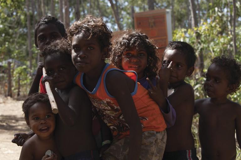 Aboriginal children | Courtesy of Tourism Australia © Valarc Films / Richard Gray