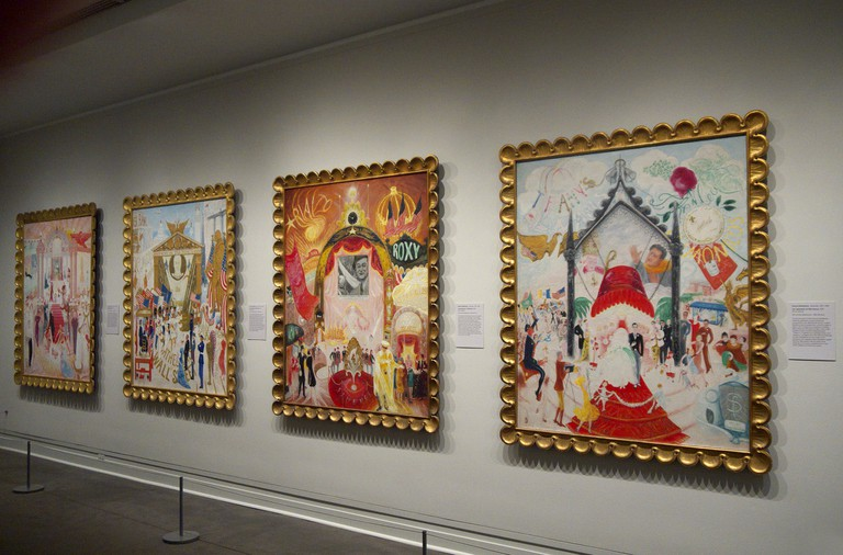 The Cathedrals of Fifth Avenue by Florine Stettheimer | © Sam Saunders/Flickr