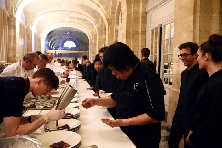 1855 Dinner, Chef Alvin Leung © Photo courtesy of Hong Kong Tourism Board