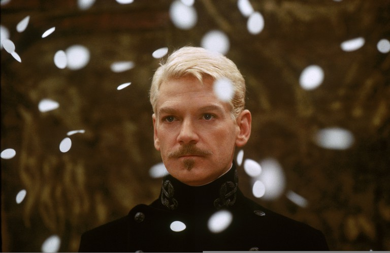 """Kenneth Branagh in HAMLET (1996. Dir Kenneth Branagh), screening in 70mm as part of """"See It Big! The 70mm Show."""" Credit: Warner Bros."""
