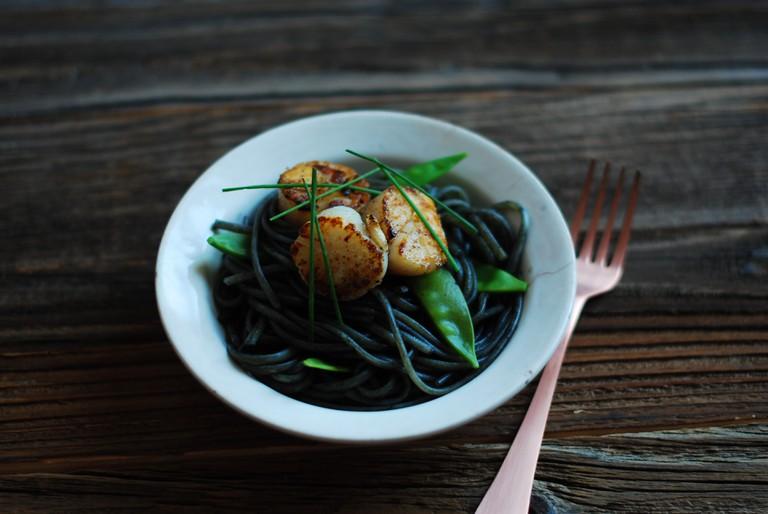 Black Pasta © Flickr