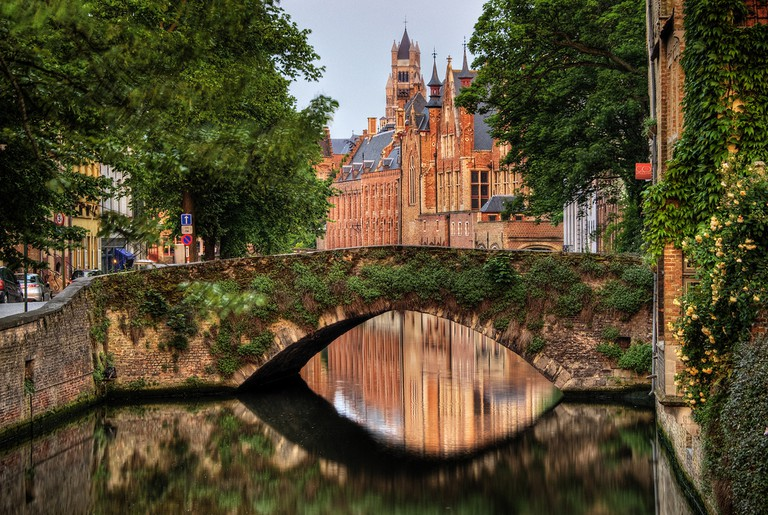 Bruges, a medieval city made rich and influential thanks to its waterways | © Wolfgang Staudt/Flickr