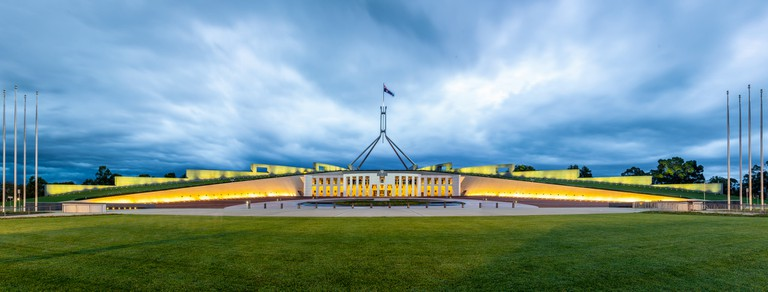 Parliament House, Canberra, ACT   © russellstreet / Flickr