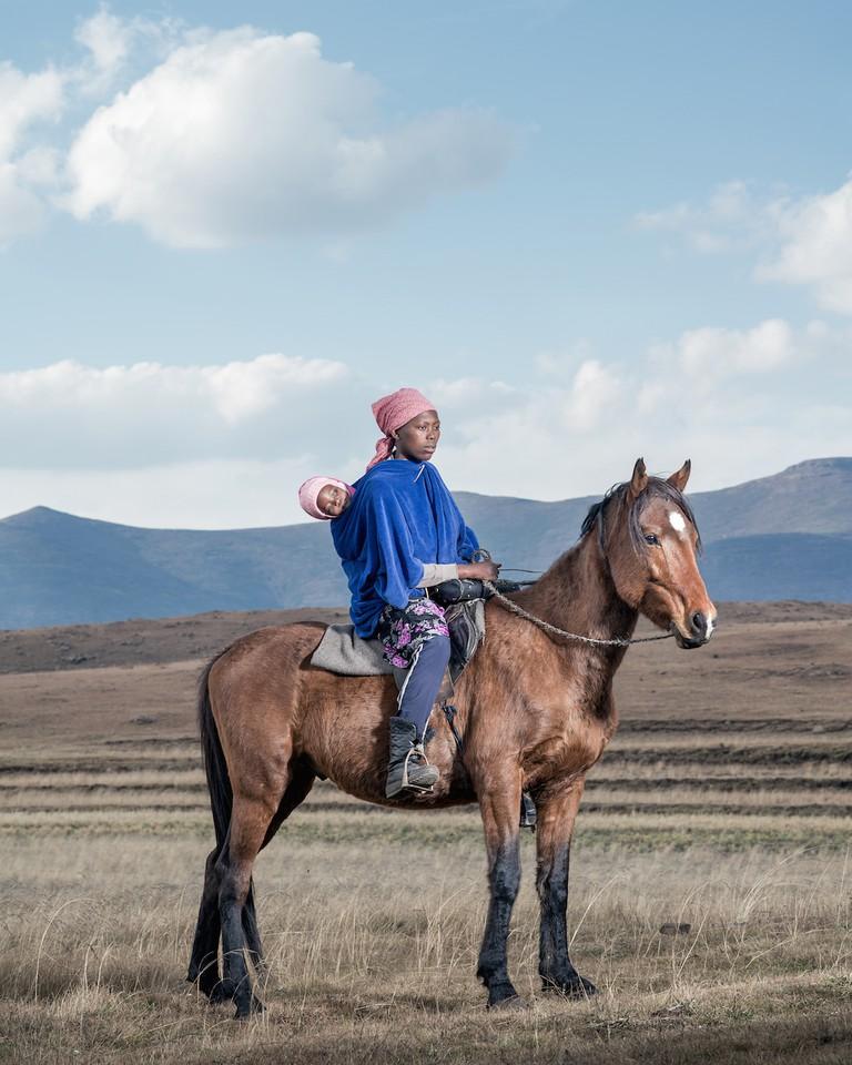 Mamasisi and Masisi Letsapo - Mohlakeng, Lesotho © Thom Pierce