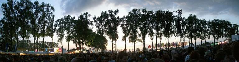 The trees of Pukkelpop at dusk | © Total 13/Flickr