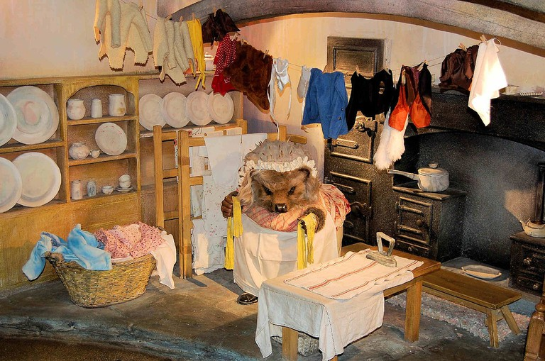 Mrs. Tiggy Winkle at the Beatrix Potter Museum in Bowness © Neil Piddock/Flickr