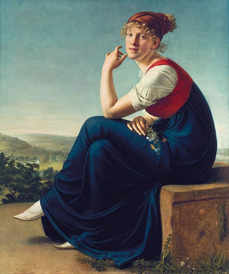 'Portrait of Heinrike Dannecker' | © DcoetzeeBot (talk | contribs)/WikiCommons