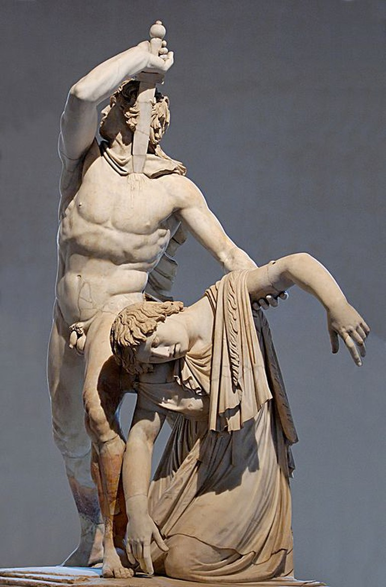 Gaul Killing Himself and His Wife, 230-220 BC   ©Jastrow (2006)/WikiCommons
