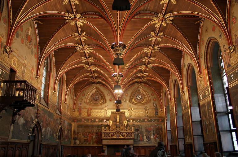 Inside Bruges' City Hall Gothic Hall   © Tanya Hart/Flickr