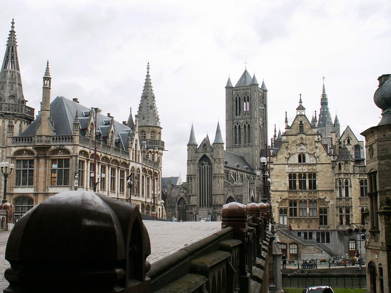 In the heart of Ghent's historic center | © Pedro/Flickr