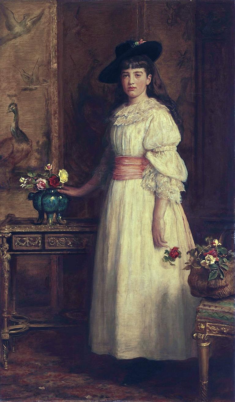 Gertrude Vanderbilt Whitney by John Everett Millais (1829-1896)   © John Everett Millais/WikiCommons