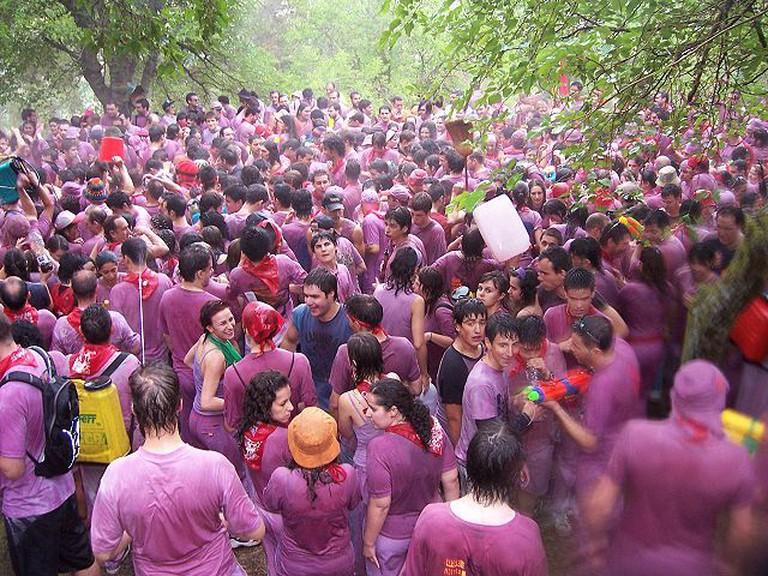 Batalla Del Vino / Wine Fight (image by BigSus)